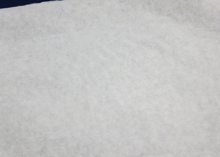60GSM White 100% Bamboo Spunbond Non Woven Fabric Good Water Penentration